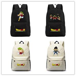 Anime Dragonball Broly gedruckt Royal Oxfonl Rucksack Schultasche Jugendliche täglich Unisex Schulter Rucksack Notebook Laptop Taschen