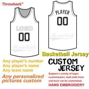 2020 Basketball personnalisé Jersey, numéro personnalisé et le nom, logo brodé, respirante Résistance à l'usure Maillots de jeunes femmes des hommes