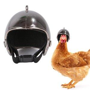 Pet шлем смешной защитный шлем Chicken Hen Hard Bird Hat Головные уборы Другие товары для домашних животных украшения