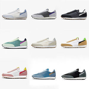 2020 Gris Dbreak Waffle Daybreak SP Plateforme Chaussures de course Hommes Femmes Chaussures topazes Or Hydrogène Université Bleu Rouge sport Formateurs