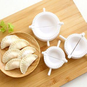Bar Çin Foo Yemek Pasta Bakeware Kitchen Cooking Mutfak 7cm / 8CM / 10cm Dumpling Kalıplar Plastik Hamur Basın Dumpling Pie Ravioli Kalıp,