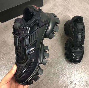 2020 de diseño de lujo de zapatos casuales Cloudbust trueno de punto para hombre de las zapatillas de deporte zapatos casuales para hombre clásicas de la tela de goma al aire libre B112 Formadores