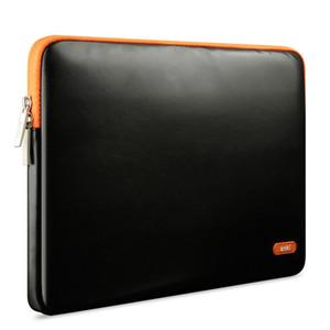 Saco de laptop de couro elegante mala homens e mulheres mala de trabalho 11 13 15.6 saco de Laptop Saco de ombro