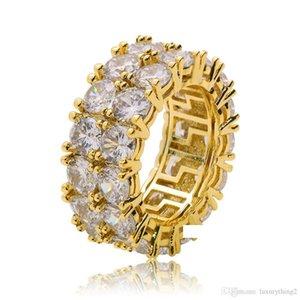 Selfdesign хип-хоп кубический Циркон камень кольцо shinny высокое качество хип-хоп рэп рэпер Циркон кольцо для мужчин медь латунь материал хип-хоп ювелирные изделия