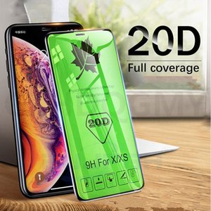 20D 150C large Radian Tempered Glass For iPhone 6 6S 7 8 Plus X XS XR 11 Pro Max SE 2 Screen Film