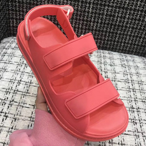 кутюр секси плоские сандалии пятки дамы двойные тапочки дизайн одежды бренда летом случайные пляжные сандалии