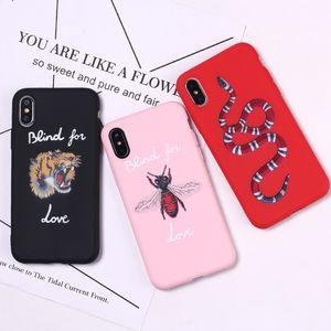 International Big Phone Cases Tiger Serpiente Bee Para Iphone Xs Max Xr Marca Helado Tpu Soft Phone Case Para Iphone 8 Plus