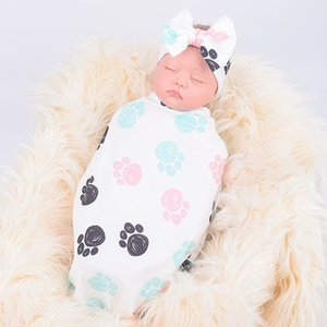 Baby-Receiving Blankets 2020 Baby-Mädchen-Karikatur Decke Swaddle Infant Musselin Wrap Neugeborenes Schlafsack