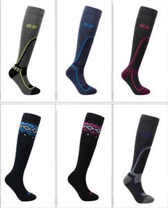 Adult long wool ski socks women men thick thermal snowboarding ski stockings children winter outdoor sports socks high quality skiing socks
