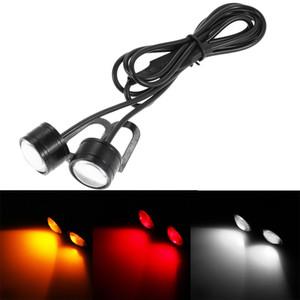 빛 점멸 램프를 실행 고품질의 10 배 DC 12V 5W 오토바이 스트로브 신호 빛 DRL 주간은 백업 조명 18mm DRL 램프 주차 시그의 TS