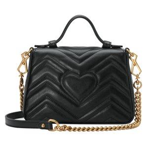 Hot borsa delle signore di modo spalla diagonale borsa casuale Portafoglio raccoglitore di alta qualità in pelle con catena di nuovo trasporto libero di stile