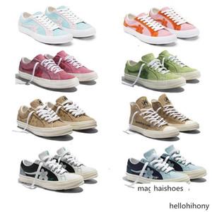 2019 Тайлер Создатель X One Star Ox Golf Le Fleur Кроссовки TTC Casual Skateboarding Спортивная обувь для мужчин женщин c6
