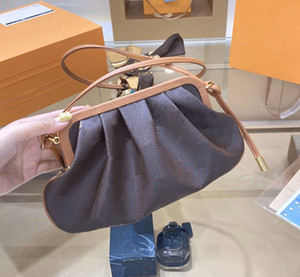 progettista borse L giallo donne del fiore marrone totes di modo nube stile della borsa della borsa delle donne classiche della borsa del progettista di lusso