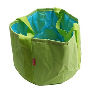 Collapsible Portable Outdoor Travel Foldable Folding Camping Washbasin Basin Bucket Bowl Sink Washing Bag Water Bucket Home Tool