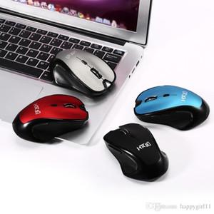 buona qualità 2.4GHz Wireless Rechargable Mouse Connettività intelligente per computer portatile per Windows 2000 7 8 XP Vista u402