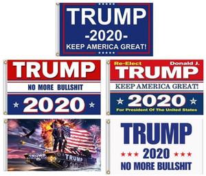 10pcs garder l'Amérique Grand 2020 Donald pour le président Etats-Unis Drapeaux Élection présidentielle Trump 3x5 Drapeau