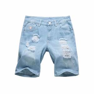 Erkek kot dossan yaz erkek arkadaşı için yırtık erkek moda vintage pantolon artı boyutu 5XL eğlence denim delik pantalones