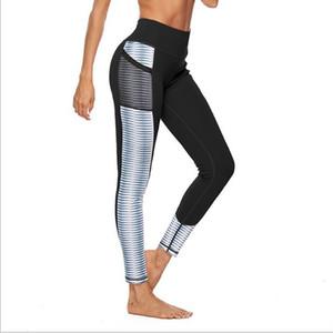 Esportes de fitness Leggings por Mulheres roupas de ginástica Ladies treino conjunto de alta qualidade Sexy Shaping Hip Quick Dry Sportswear Yoga Pants