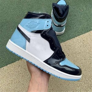 new Mens basketball shoes 1s high og Obsidian UNC to Chicago Pine Turbo Green Travis Scotts Bloodline 1 jumpman men women sports sneaker