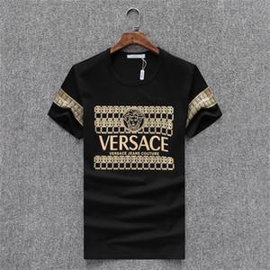 tienda de descuento del viernes negro camiseta de los hombres de impresión de ropa de marca Camiseta del monograma de los hombres del estilo de diseñador de moda T-shirtL1
