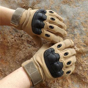 Outdoor Taktische Handschuhe Vollfinger Sport Wandern Wandern Radfahren Herrenhandschuhe Schutz Shell Handschuhe