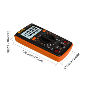 Цифровой мультиметр Esr Meter Multimetro Tester True Rms Richmeters Dmm 400a Цифровой мультиметр