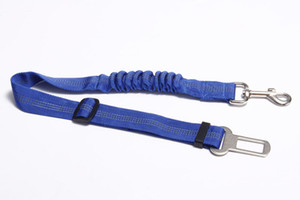 Portable PET Dog Car Elastic Reflective Safety Rope Dog Seat Belt Dog Traction Rope Leash Free Shipping