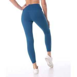 NWT Eshtanga Spor sıkı Üst Kalite Kadınlar Yoga Tammy kontrol Capris tozluk Katı Skinny 4 yönlü Stretch pantolon XXSbedeni-XL Y200529