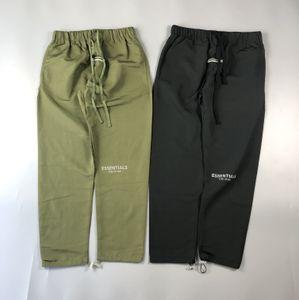 FOG 3M Reflective Track Pants Drawstring Pant Elastic Waist Tooling Pants Sweatpants Street Casual Trousers Sport