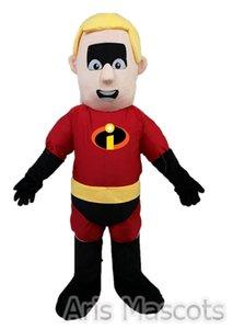 Taille adulte caractères superhéros de bande dessinée costume de mascotte pour la publicité Mascots équipe mascotte Mascots personnalisée animaux Deguisement Mascotte