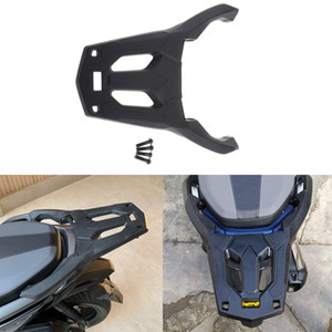 Cargo Rack Luggage Carrier Rear Tail Holder for Honda Forza 250 300 2018 2019 Motorcycle (Black)