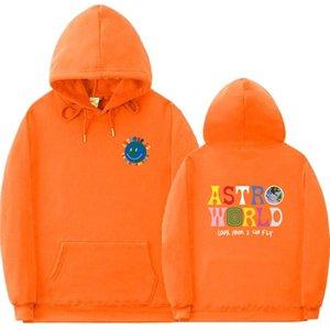 Multicolor Astroworld HOODIES Männer und Frauen arbeiten Hip Hop-Straße Kostüm Sweatshirt Brief Blick MoM I Can Hoodiepullover