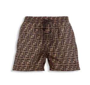 Estate del progettista di marca Mens Shorts Beach di lusso Pantaloni Swim Trunks brevi Swimshorts FF Lettera elastico in vita i bicchierini di nuoto 20041009L