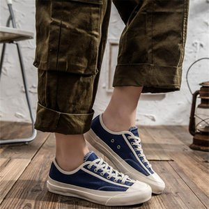 Size35-44 Couple Canvas Shoes MenS Classic Non Slip Sneakers Vintage Casual Lace Up Yellow Mens Sneakers Women Sapato Para Homem D09