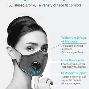 Gesichtsmaske Wiederverwendbare Filteratemventil Protect Masken Für Staubpartikel Pollution Antistaub PM2.5 Haze pullution INSTOCK Maske