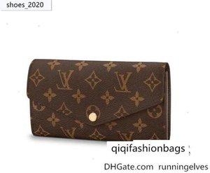 Sarah Wallet M60531 neue Frauen-Serien Exotische Leder Iconic Taschen Kupplungen Abendkette Wallets Purse