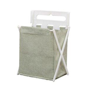 BEAU-Foldable Laundry Storage Bucket Clothes Hamper Sorter Dirty Clothes Bag Children'S Toy Storage Basket Bathroom Storage Bag