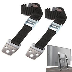 2 Pcs Baby Safety Flat TV Child Furniture Strap Wall Protection Lock Anti-Tip For Kids