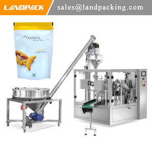Multifunction Turmeric Powder Premade Pouch Fill And Seal Machine Good Sealing