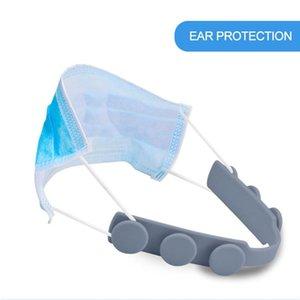 Ayarlanabilir Kaymaz Maske Kulak Uzatma Kancalar Üçüncü Vites Kulak Ağrısını Relieving için Toka Rails Asma Maske kulplar