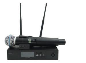 QLXD4 UHF 전문 무선 마이크 시스템 BETA58A QLX 휴대용 송신기 무대 라이브 보컬 노래방 연설