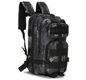 Stokta kamuflaj sırt çantası seyahat sırt çantası erkekler bırak gemi çantası 3 p erkek tuval sırt çantaları büyük kapasiteli sırt çantaları su geçirmez sırt çantası