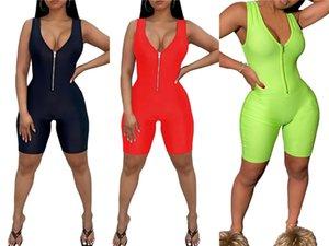 Muxu V шеи женщины Комбинезон тела Feminino Streetwear лето 2020 Одежда Rompers Женская одежда Плюс Размер Wide Leg Комбинезон Y19060501 # 95734