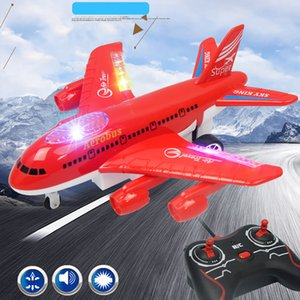 Electric Remote Control Aircraft Simulated Airline Passenger Aircraft Remote Control Airplane Boeing B747 Aircraft Plane Model