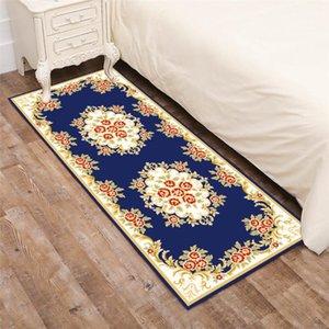 Home Decor Bedside Area Rug National Flowers Corridor Mat Doormat Balcony Bedroom Kitchen Rugs Living Room Carpet