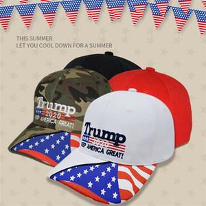 11 Stiller Trump 2020 Seçim propagandaları Destek Cap Açık Güneşlik Beyzbol şapkası Güneş kremi Trump Cap T3I5136