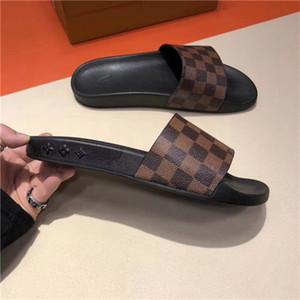 Männer Frauen Slide Sandalen Designer22ss Schuhe Luxuryos Slide Summer Fashion Flach Slippery mit dicken Sandalen Slipper Flip Flops 29