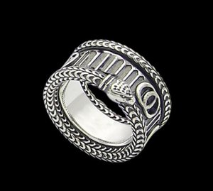 Fashion letter love snake rings bague Ringe moissanite for mens and women party couples lovers gift jewelry