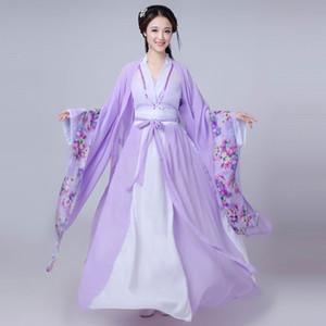 Las mujeres chinas princesa traje trajes tradicionales de baile de disfraces niños enfants dramatúrgica antigua dinastía Tang hanfu chica popular