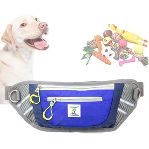 Pet Training Waist Bag Dog Traction Rope Running Training Dog Leads Waterproof Sports Waist Bag Pockets Dogs Supply